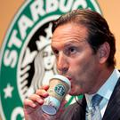 Starbucks chief executive Howard Schultz Photo: REUTERS/Toru Hanai