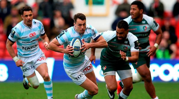 Juan Imhoff of Racing 92 breaks with the ball Photo: Getty