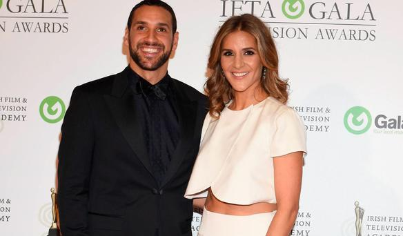 Amanda Byram and husband Julian Okines