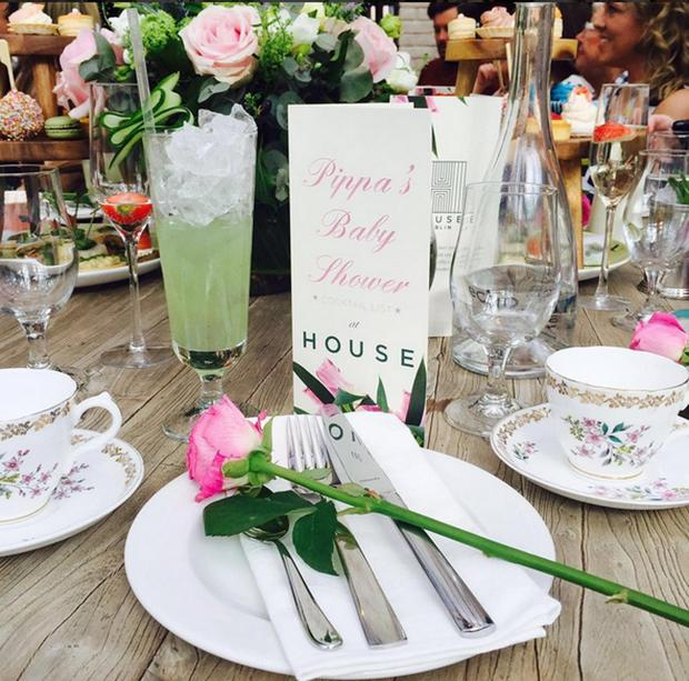 Pippa O'Connor's baby shower at House