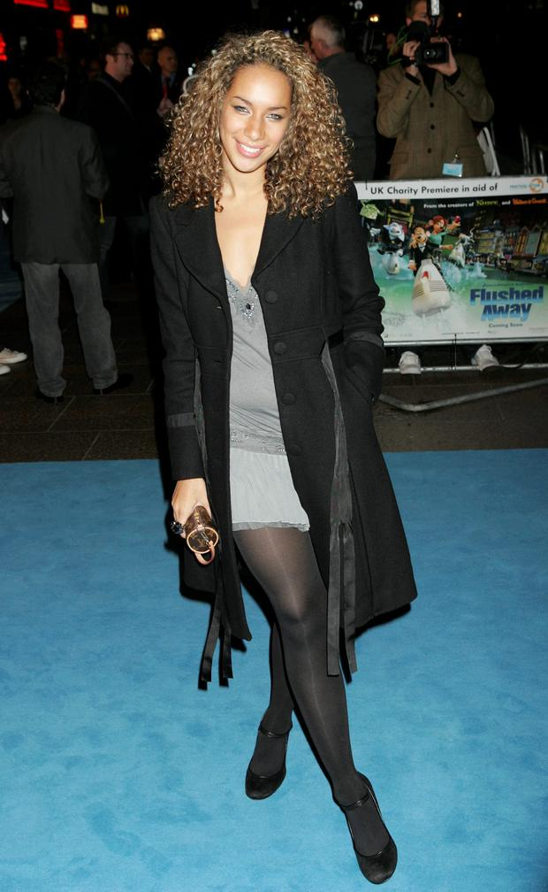Leona Lewis from the X Factor attends the UK Premiere of the movie 'Flushed Away' held at the Empire Leicester Square on November 23, 2006 in London, England. (Photo by Chris Jackson/Getty Images)