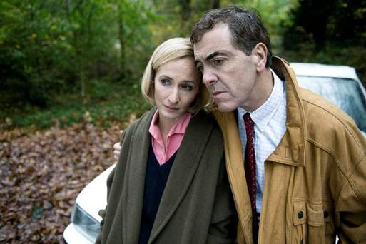 Genevieve O'Reilly and James Nesbitt in The Secret