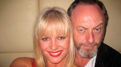 Amanda Brunker at Renards with Liam Cunningham