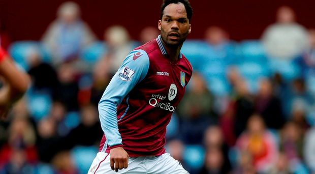 Aston Villa's Joleon Lescott during the Barclays Premier League match at Villa Park, Birmingham. PRESS ASSOCIATION Photo.