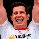 Sean Cavanagh: 'To progress through the Ulster Championship is a serious target for us at this point. If we were to get through Derry and the winners of Cavan and Armagh and get to the Ulster final again that would be serious progress for us' Photo: Ramsey Cardy / SPORTSFILE