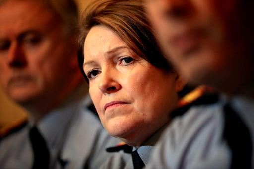 Delegates at the annual conference of the Garda Representative Association will today call on Commissioner Nóirín O'Sullivan to 'stand up' for the ordinary garda who has suffered most from several years of cutbacks and austerity. Photo: Gerry Mooney