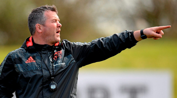 Some would say Anthony Foley is being undermined rather than underpinned by Garrett Fitzgerald's announcement yesterday Photo: Seb Daly / SPORTSFILE