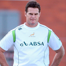 New Munster director of rugby Johan 'Rassie' Erasmus Photo: Steve Haag/Gallo Images