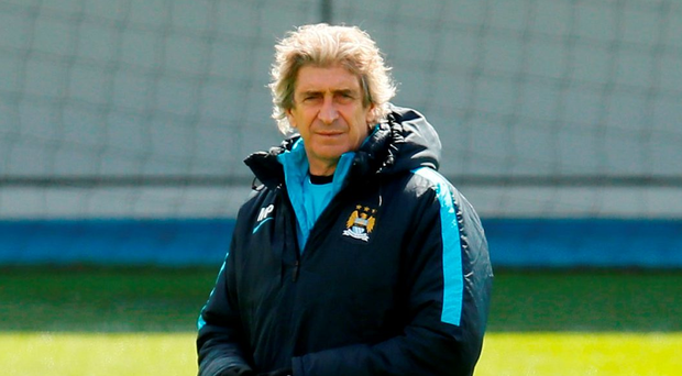 Manchester City manager Manuel Pellegrini will be looking to depart the club on a high note Photo: Reuters / Jason Cairnduff