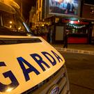 Gardai investigate the shooting of Michael Barr at the Sunset House House pub in Summerhill, Dublin.