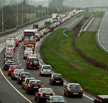 Gridlock on our motorways is back to boom-time levels