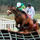 Dont Touch It and Barry Geraghty overcome a final-flight error to land the Herald Champion Novice Hurdle (Photo: PA)