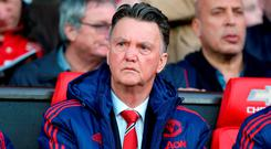 Manchester United manager Louis van Gaal (PA)