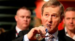 Water issues continues to dog Taoiseach Enda Kenny