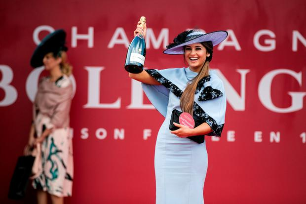 cfb6a14d098 Kirsty Farrell from Newry was named Bollinger Best Dressed Lady at Day one  of the Punchestown
