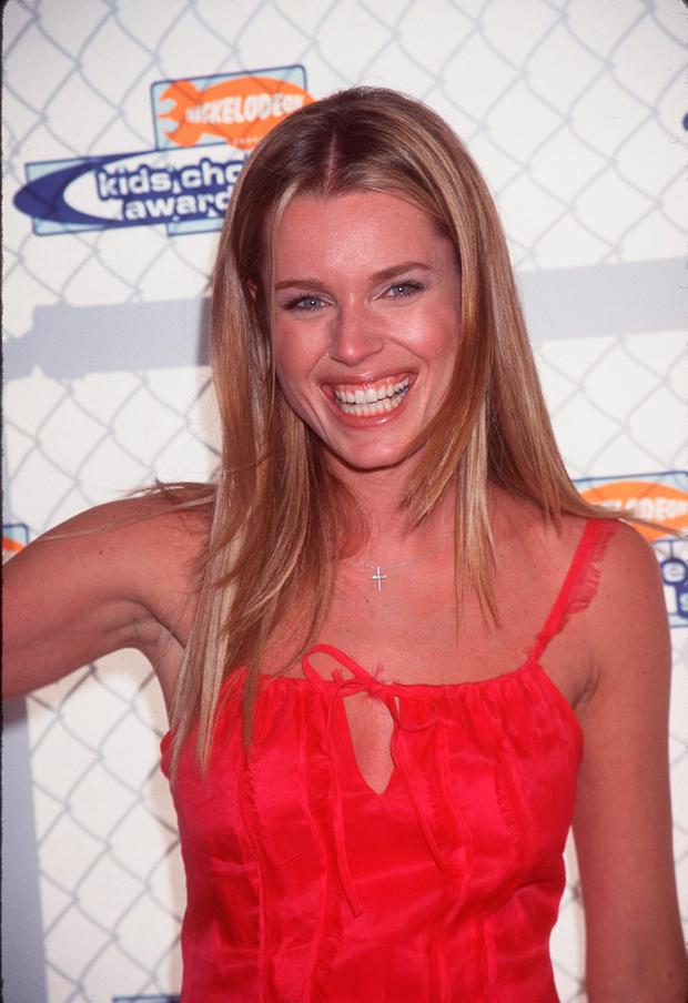 Rebeca Romain Stamos at Nickelodeon's 12th Annual Kids'' Choice Awards in 1990