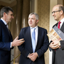 Michael Harte, CFO, James Lynch, Chairman, Jim Woulfe CEO of Dairygold