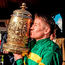 Barry Geraghty with the Gold Cup Photo: Matt Browne / SPORTSFILE