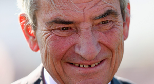 Delighted: Luca Cumani Photo: Laurence Griffiths/Getty Images