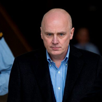 David Drumm leaving the Courts of Criminal Justice in March after he was bailed. Photo: Mark Condren