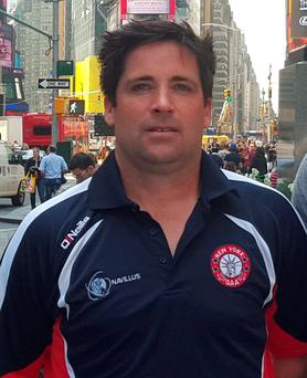 New York football manager Justin O'Halloran