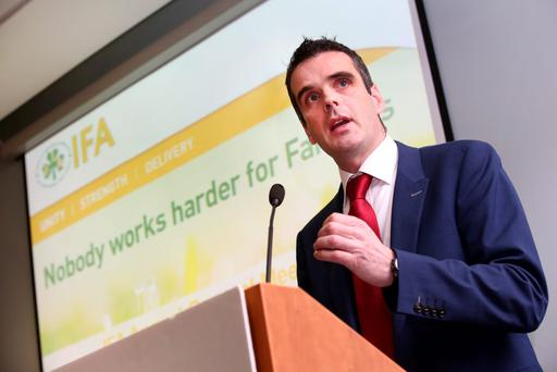 IFA President Joe Healy. Photo: Finbarr O'Rourke