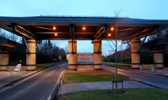 Tallaght Hospital: Mislaid back-up results of breath tests. Photo: Colin Keegan, Collins Dublin.