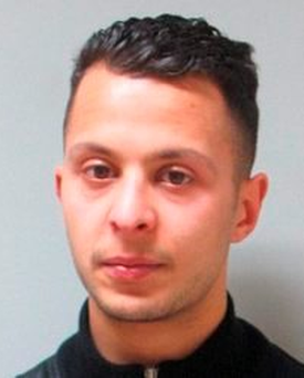 Paris attacks suspect Salah Abdeslam Photo: Belgium Federal Police via AP