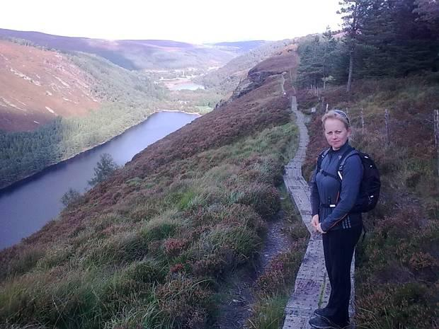 Great outdoors: Ann loved going for walks in places like the Mournes. Photo: Jimmy Murray
