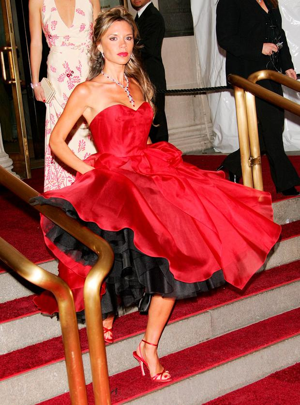 Met Gala 2006: Victoria Beckham at the height of her WAG-dom was a gift to the fashion history books.