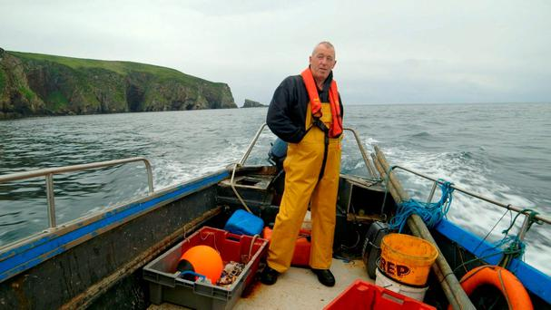 Fisherman Jerry Early from the documentary The Atlantic. Photo: Szymon Lazewski/PA Wire