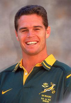 Johan Erasmus during his South Africa years Photo: Getty/Dave Rogers/Allsport