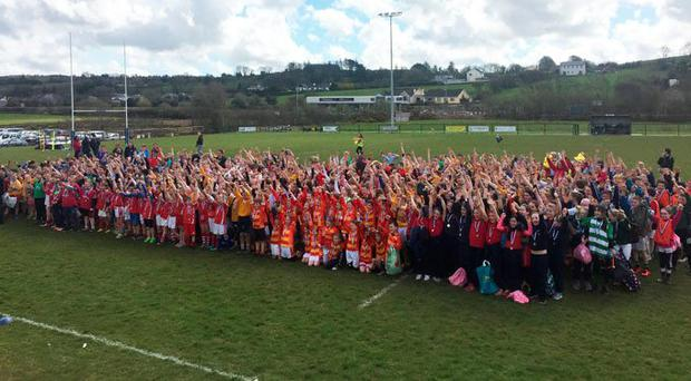 'Munster Rugby would like to thank all the volunteers for their contributions towards the success of the event'