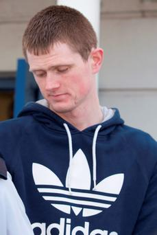 Noel Carr at Letterkenny Circuit Court yesterday. Photo: North West Newspix