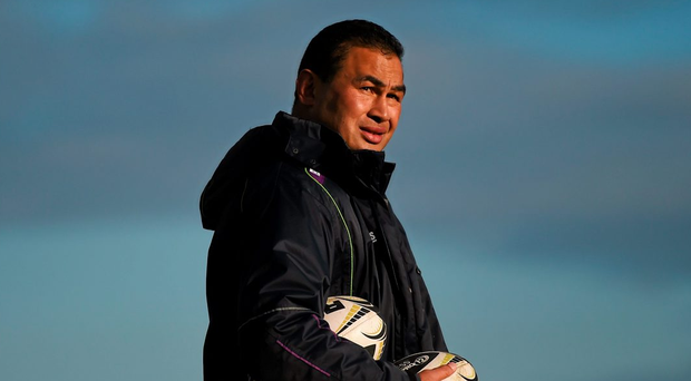 """Pat Lam """"Whether you are expected to win or not, our own expectation is we do our jobs, perform well and that will get us through."""" Photo: Sportsfile"""