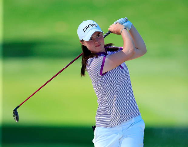 Leona Maguire, winner of the 2015 Irish Independent Young Sportstar of the Year award Photo: Getty