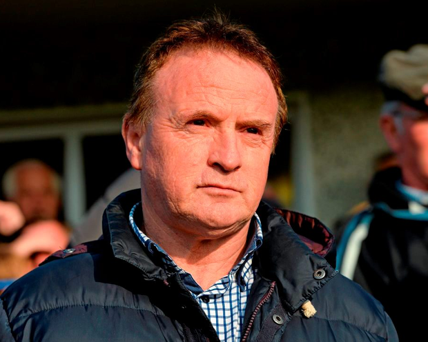 """'In a stark admission, Connerton (p) believes that because of the games going ahead, denying the squad training time together, it was now """"unlikely"""" that they will beat Offaly in their opening round on Saturday' Photo: Sportsfile"""