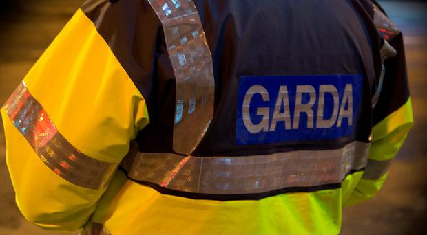 Gardai executed a search warrant at the house last night and will begin excavating there today. Photo: Arthur Carron