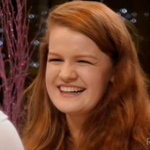 'Flame haired' Laura on First Dates.