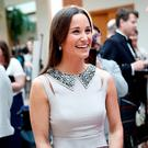 LONDON, ENGLAND - APRIL 28: Pippa Middleton attends Disability Snowsport UK ParaSnowBall 2016 sponsored by Crystal Ski Holidays and Salomon, at The Hurlingham Club on April 28, 2016 in London, England. (Photo by David M. Benett/Dave Benett/Getty Images for Disability Snow Sports UK)