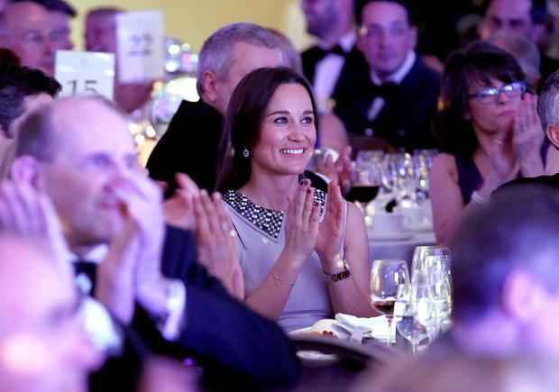 Pippa Middleton attends Disability Snowsport UK ParaSnowBall 2016 sponsored by Crystal Ski Holidays and Salomon, at The Hurlingham Club on April 28, 2016 in London, England. (Photo by David M. Benett/Dave Benett/Getty Images for Disability Snow Sports UK)