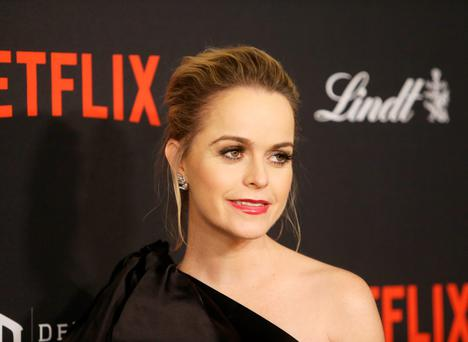 Taryn Manning arrives at the 2016 Weinstein Company and Netflix Golden Globes afterparty held on January 10, 2016 in Los Angeles, California. (Photo by Michael Tran/FilmMagic)