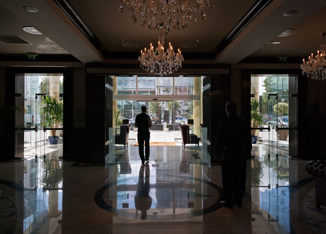 The four-star Kingsley Hotel opened its doors in 2014.