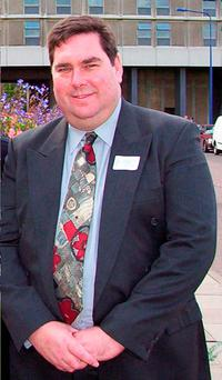 John Clift, 54, who was killed in a collision involving two ambulances Photo credit: North Wales Police/PA Wire