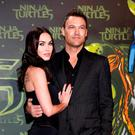 Megan Fox and husband Brian Austin Green split earlier this year but the actress debuted her baby bump at an event in April