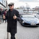 David Hasselhoff arrives at The Marker Hotel for the Gumball 3000, Dublin, Ireland - 30.04.16. Pictures: Jerry McCarthy / VIPIRELAND.COM **IRISH RIGHTS ONLY** *** Local Caption *** David Hasselhoff
