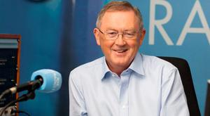 POPULAR: Radio host Sean O'Rourke celebrated a 23,000 increase in listeners to his RTE show