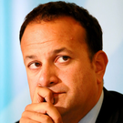 'Leo Varadkar would like to register his unease with all aspects of this deal, but he will go along with it anyway.' Photo: Frank McGrath