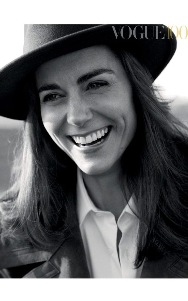 The Duchess is the most senior member of the Royal family to appear on the cover of the magazine since Princess Diana. Credit: Josh Olins/Vogue