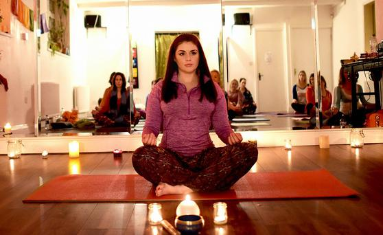 Sile Seoige revealed that yoga has helped her back from a dark place